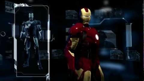 Iron Man - Blu-ray Menu (2008) HD 1080p