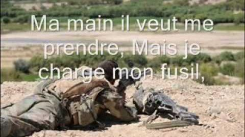 "Chant Militaire - ""J'avais un camarade"" paroles"