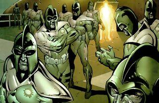 Kree (Earth-33900) New Avengers Marvel Salutes the U.S. Military Vol 1 1