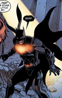 Eliot meets Batman (Earth-3)