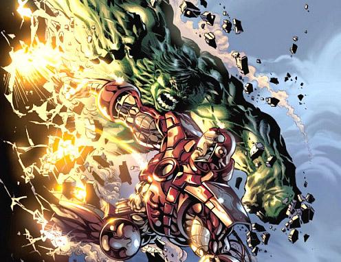 image hulk vs iron man jpg comic crossroads fandom powered by