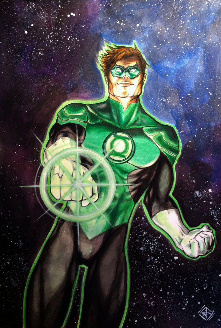 Green Lantern Earth 41613