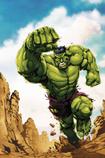 Hulk punching by Shane Davis