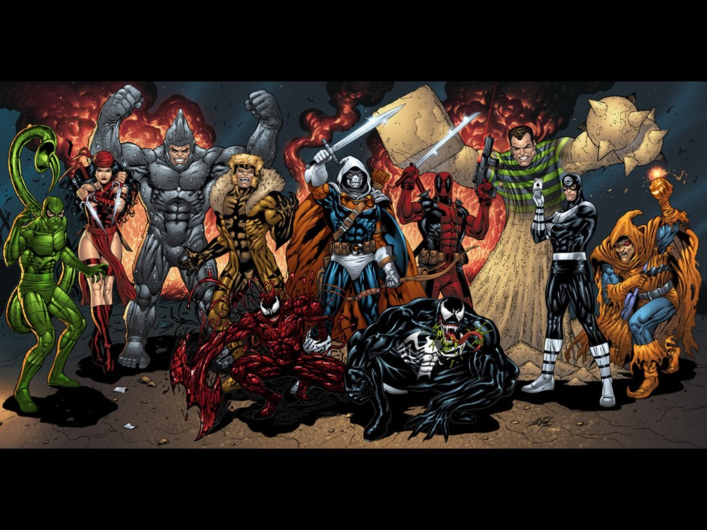 marvel comics villains