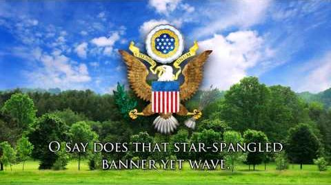 "National Anthem of the USA - ""The Star-Spangled Banner"""