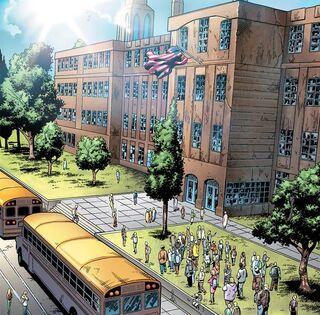 Midtown High School from Spider-Man Season One Vol 1 1