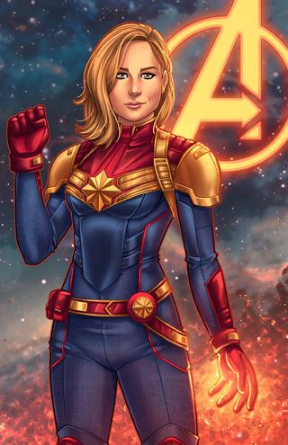 Captain marvel mcu by jamiefayx-daiec6x