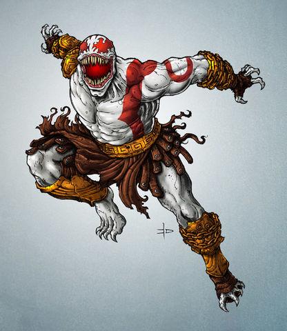 Kratos Brock Earth 70709 Comic Crossroads Fandom