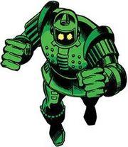 Titanium Man armor prototype