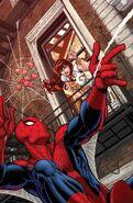 Amazing Spider-Man Renew Your Vows Vol 1 5 Bradshaw Variant Textless
