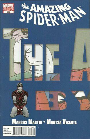 File:Amazing Spider-Man Vol 1 655 Second Printing Variant.jpg