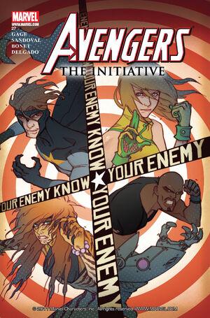 Avengers The Initiative Vol 1 27