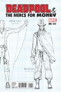 Deadpool & the Mercs for Money Vol 1 5 Design Variant