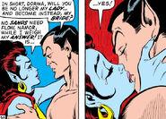 Dorma accepts Namor's proposal in Sub-Mariner Vol 1 33