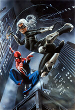 Felicia Hardy and Spider-Man (Earth-1048) from Marvel's Spider-Man (video game)