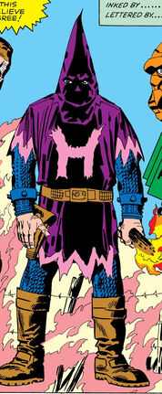 Hate-Monger original costume seen in Fantastic Four Vol 121