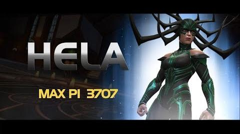 Hela Special Moves Marvel Contest of Champions