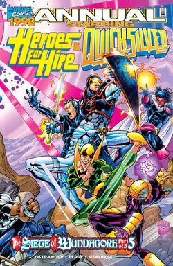 Heroes for Hire Quicksilver Vol 1 '98