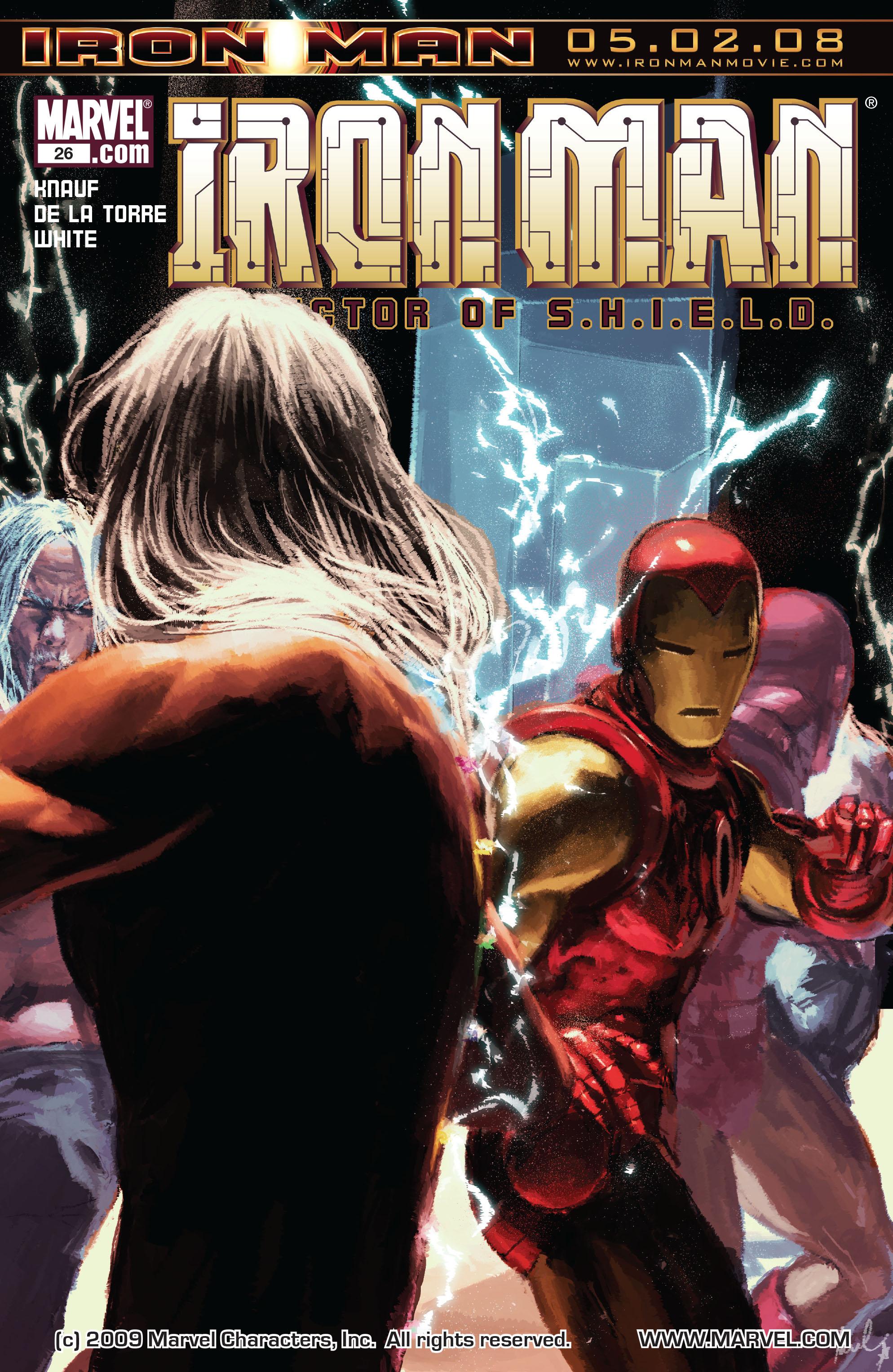 Invincible Iron Man Vol 1 26