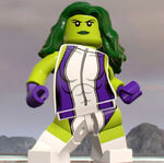 Jennifer Walters (Earth-13122) from LEGO Marvel Super Heroes 2 0001