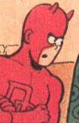 Matthew Murdock (Earth-89768) from Fred Hembeck Destroys the Marvel Universe Vol 1 1 0001