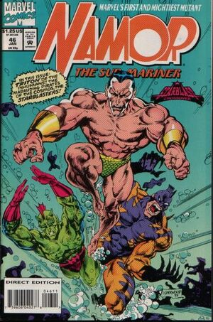 Namor the Sub-Mariner Vol 1 46