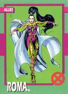 Roma (Otherworld) from 1992 Impel X-Men (Trading Cards) 0001