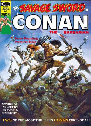 Savage Sword of Conan Vol 1 1