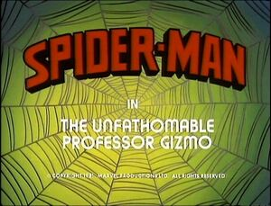 Spider-Man (1981 animated series) Season 1 16