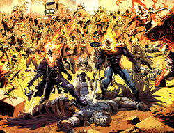 Spirits of Vengeance (Earth-616) from Ghost Riders Heaven's on Fire Vol 1 6 001