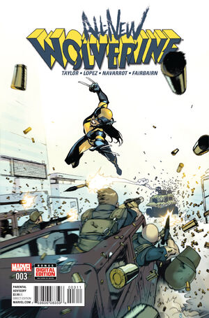 All-New Wolverine Vol 1 3