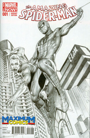File:Amazing Spider-Man Vol 3 1 MaximuM Sketch Variant.jpg