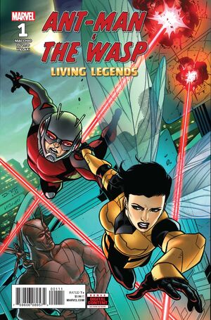 Ant-Man & the Wasp Living Legends Vol 1 1