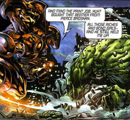 Anthony Stark (Earth-616), Bruce Banner (Earth-616), Iron Man Armor Model 26 MK II from Incredible Hulk Vol 2 71 003