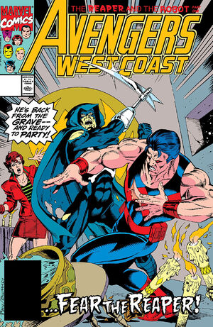Avengers West Coast Vol 2 65