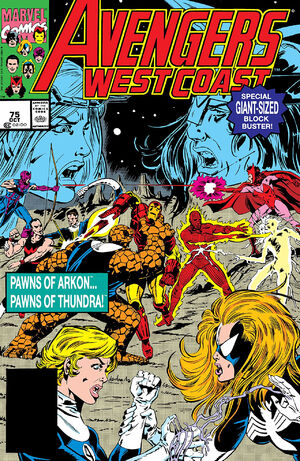Avengers West Coast Vol 2 75