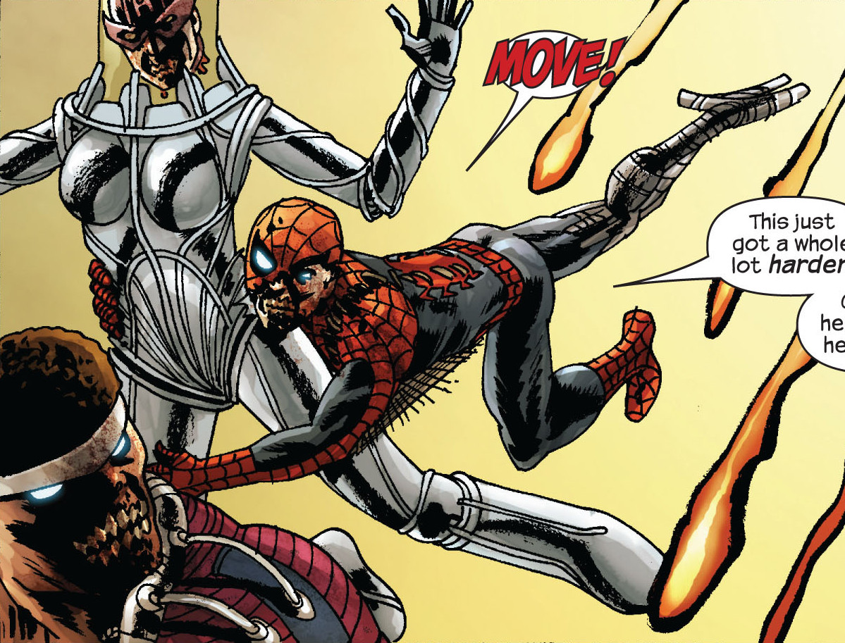 Clinton Barton (Earth-2149), Peter Parker (Earth-2149), and Luke Cage  (Earth-2149) from Marvel Zombies Vol 2 4 0001.jpg