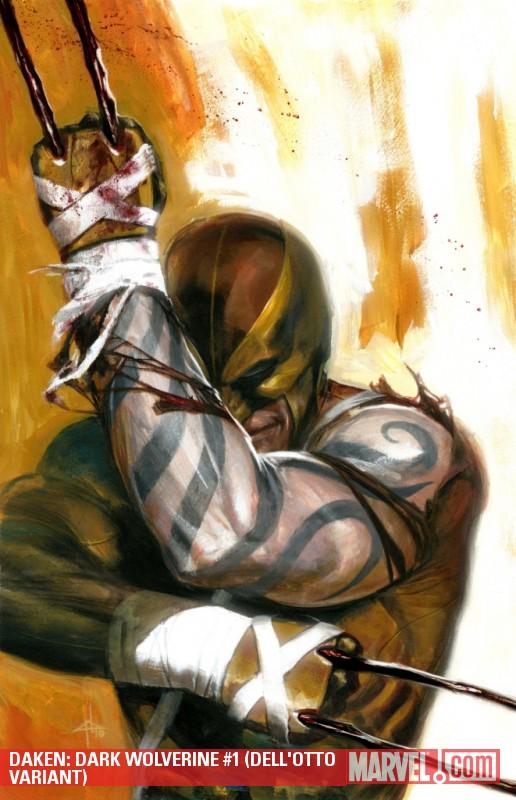 Daken Dark Wolverine Vol 1 1 Textless Dell'otto Variant.jpg