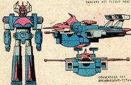 Dangard Ace (Earth-616) from Shogun Warriors Vol 1 4 0001