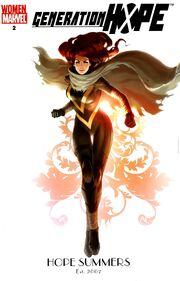 Generation Hope Vol 1 2 Women of Marvel Variant