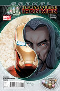 Invincible Iron Man Annual Vol 1 1