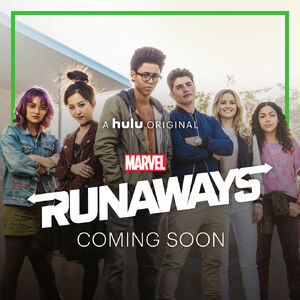 Marvel's Runaways poster 001