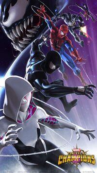 Marvel Contest of Champions Arachnid Action 001