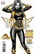 Phoenix Resurrection The Return of Jean Grey Vol 1 1 JSC Exclusive Variant G