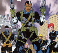 Shadowforce Alpha (Earth-616) from Amazing Spider-Man Super Special Vol 1 1 001