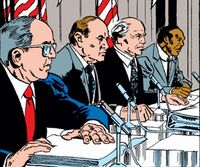 Super-Hero Registration Act Subcommittee (Earth-616) from Fantastic Four Vol 1 335 0001