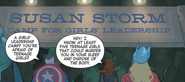 File:Susan Storm Camp for Girls' Leadership from Avengers Vol 7 7 001.jpg