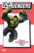 U.S.Avengers Vol 1 1 Utah Variant