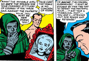 Victor von Doom (Earth-616) and Namor McKenzie (Earth-616) from Fantastic Four Vol 1 6 0001