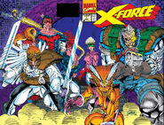 X-Force Vol 1 1 Wraparound Cover